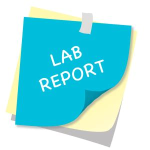How to write college lab reports